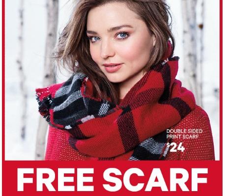 Joe Fresh Free Scarf Promo Code