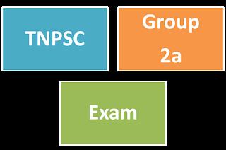 TNPSC Group 2a 2015 Latest