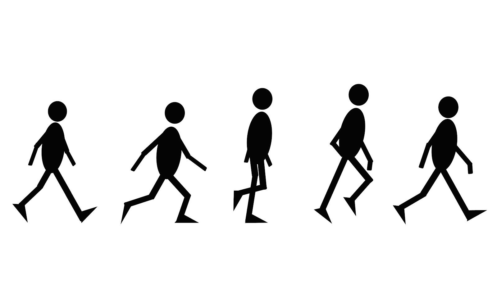Walking Animation Steps