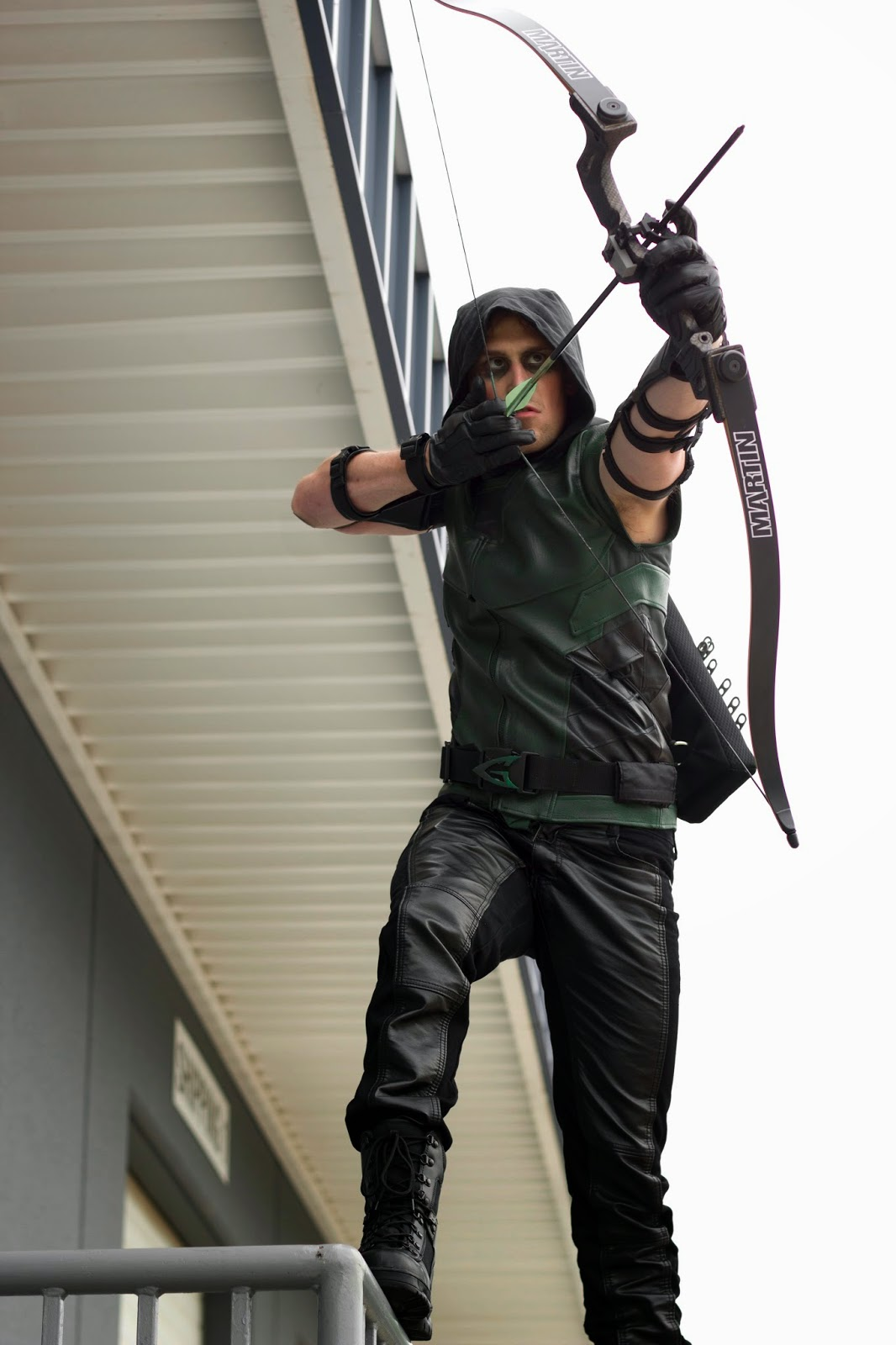 the jetpack project: green arrow - photoshoot