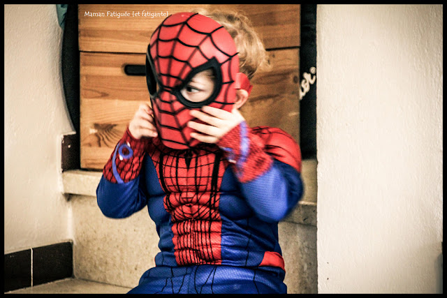 carnaval spiderman