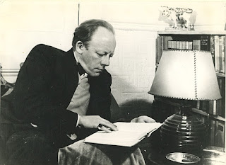 Alan Rawsthorne in April 1949 (photo BBC)