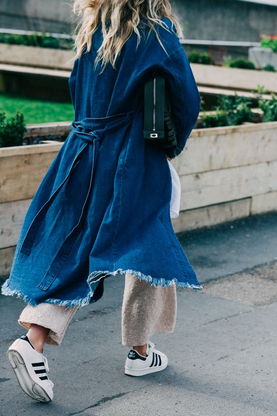 Outfit Inspiration: Frayed Denim