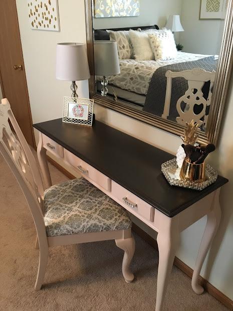 Classroom Crafter Diy Vanity Desk Makeover Magnolia