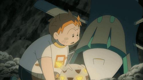Pokemon Sol y Luna Capitulo 69 Temporada 20 La brillante nave estelar celesteela
