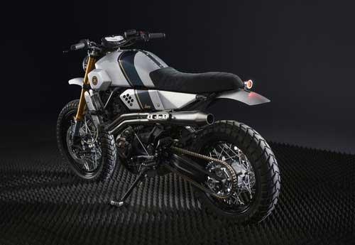 Modifikasi Motor Yamaha XSR700 Retro Rasa Traker