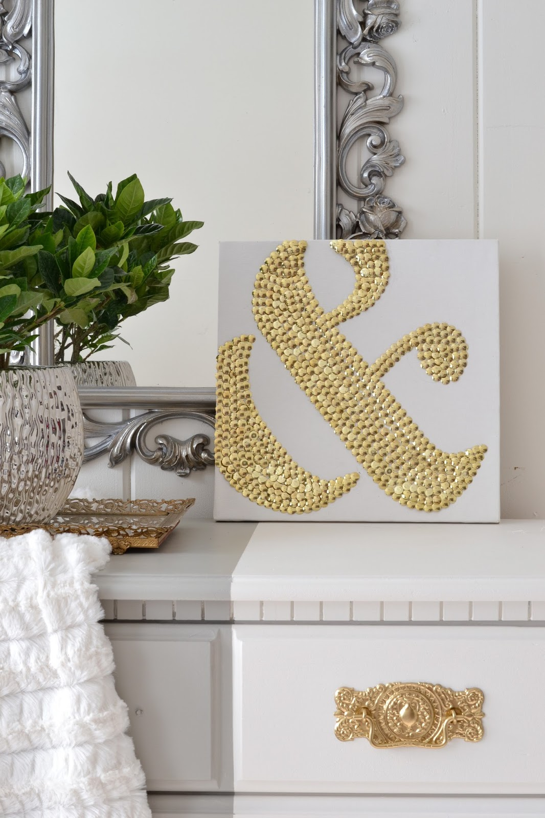 LiveLoveDIY: 10 DIY Art Ideas: Easy Ways to Decorate Your ...
