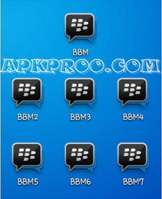 Download BBM 1, BBM 2, BBM 3, BBM 4 Apk [BBM Multi]