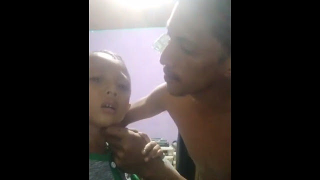 Pria yang Pukuli Anaknya dan Videonya Beredar Luas Ditangkap