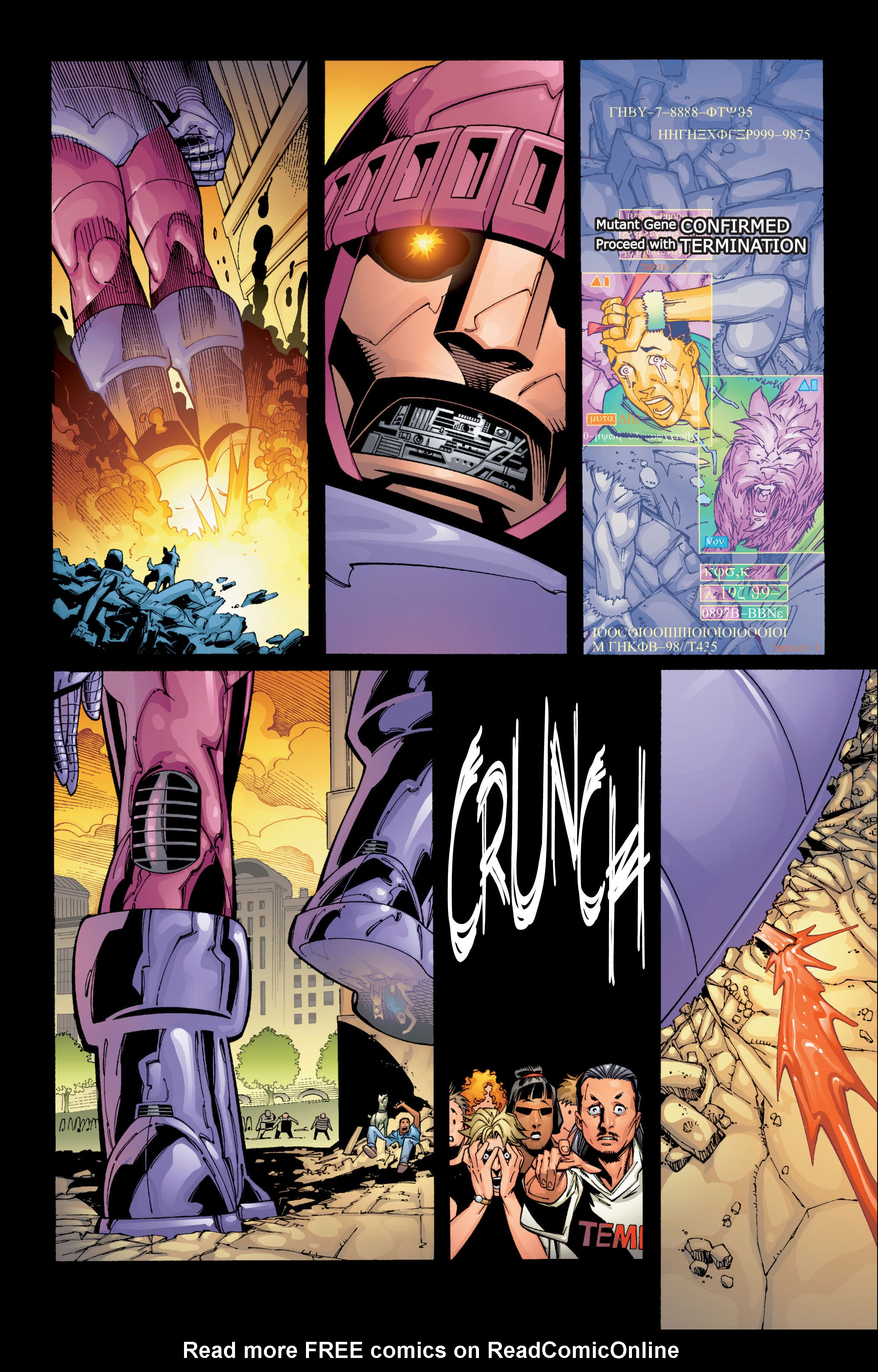 Read online Ultimate X-Men comic -  Issue #1 - 5