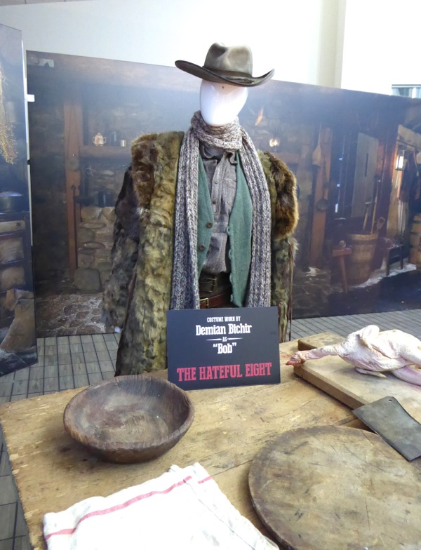 Demián Bichir Hateful Eight Bob costume