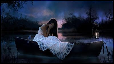 صور خلفيات بنات حزينة أنيقة