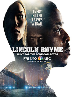 Lincoln Rhyme Hunt For The Bone Collector Series Poster