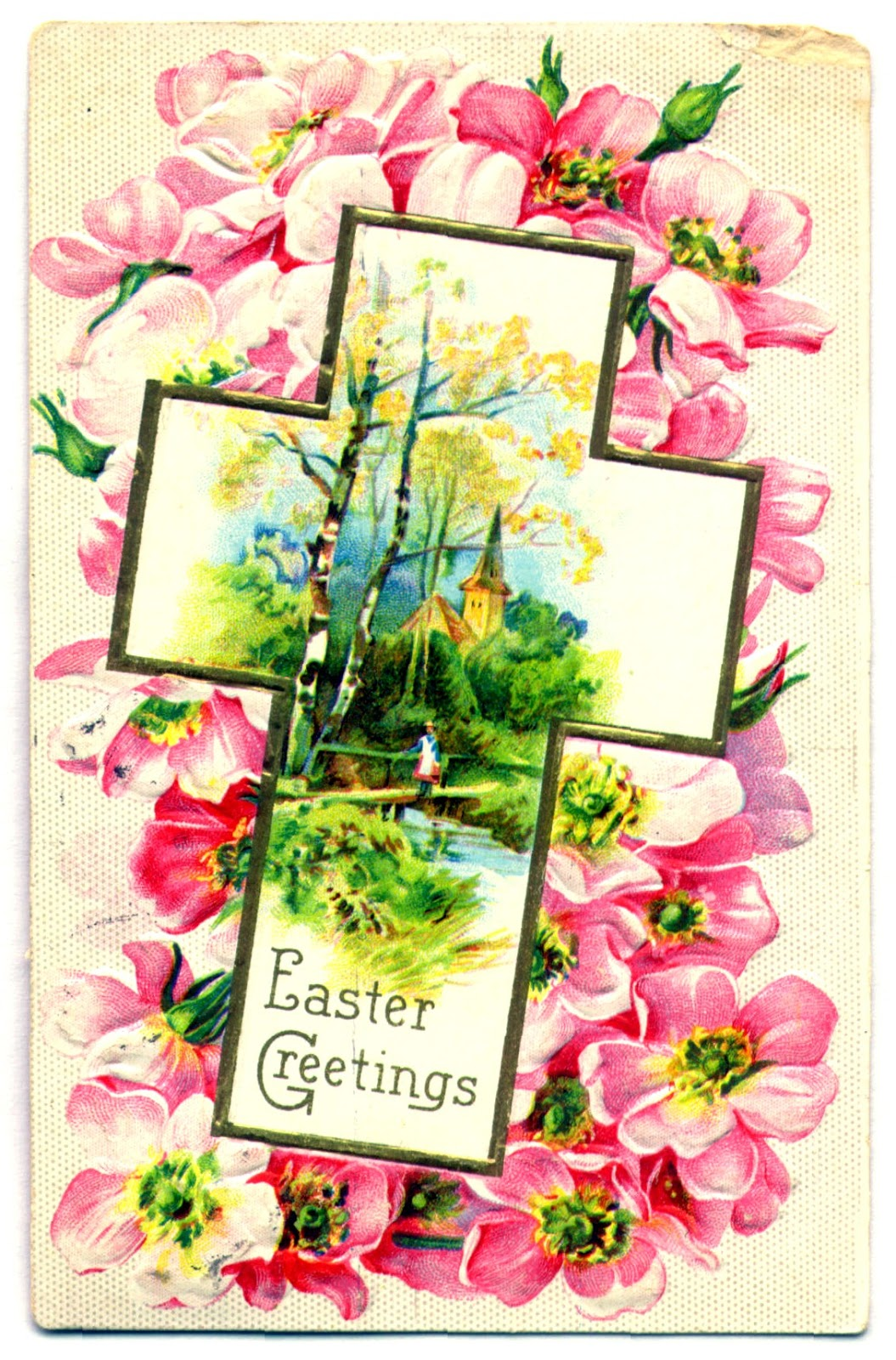 Nostalgic Needleart Easter Greetings From Vintage Vogue
