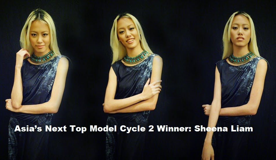 Sheena Liam is Asia's Next Top Model Cycle 2 Winner