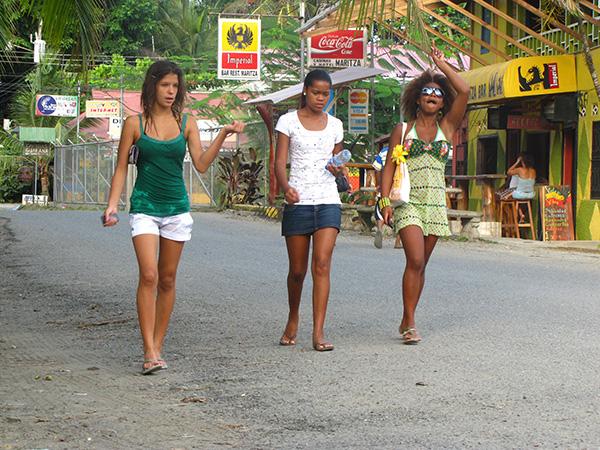 Bag Zebra Pictures: Bar Girls Costa Rica