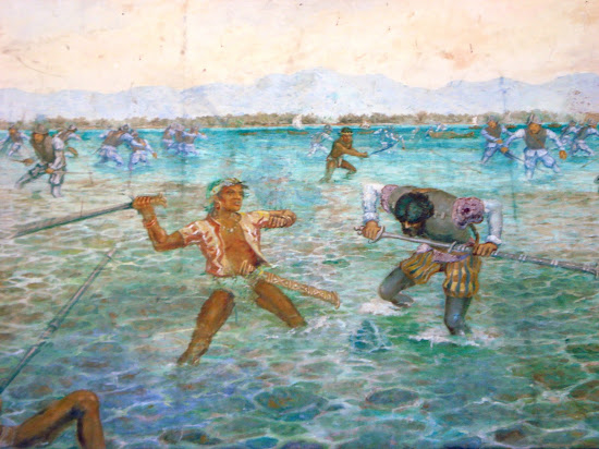 Battle of Mactan in 1521
