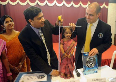 Measuring World's Shortest Woman 'Jyoti Amge'