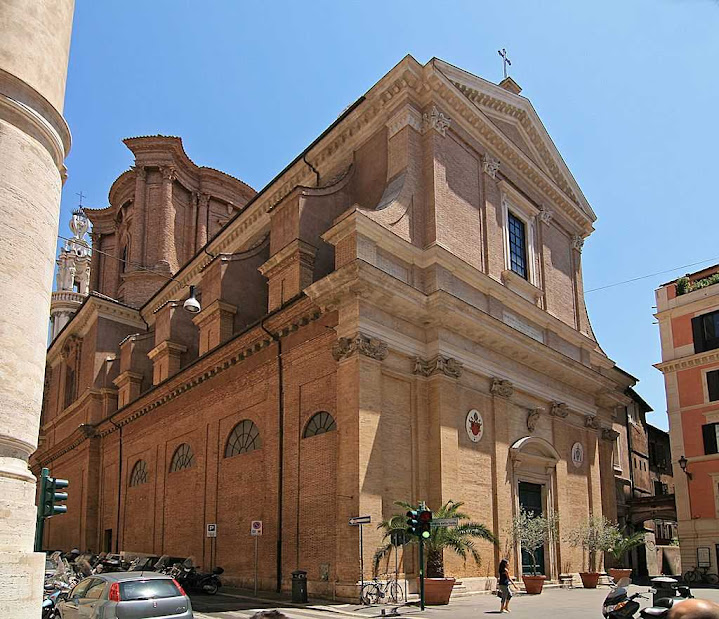 Igreja onde aconteceu o milagre