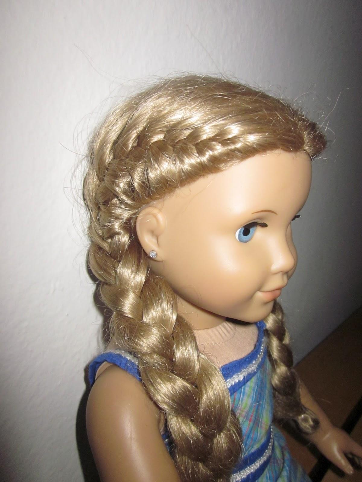 Groovy Sew Crafty Mommy American Girl Hair Styles Short Hairstyles Gunalazisus