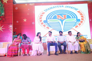 Tamil Actress Singer Andrea Stills in White Salwar Kameez at Narayana Group of Schools Carnival Inauguration  0014.jpg