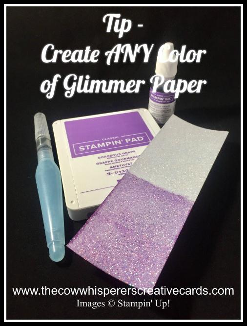Tip, Glimmer Paper, Aqua Painter, Glitter Paper