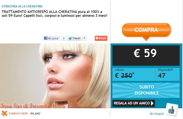 Stiratura capelli alla Cheratina Trattamento Anticrespo a Milano con Poinx: opinioni, prezzi, consigli, recensione
