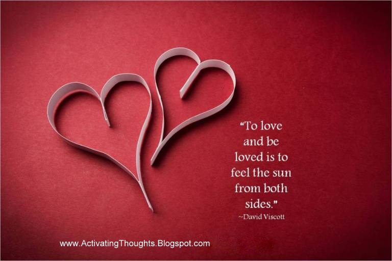 Activating Thoughts: Inspirational Love Pictures