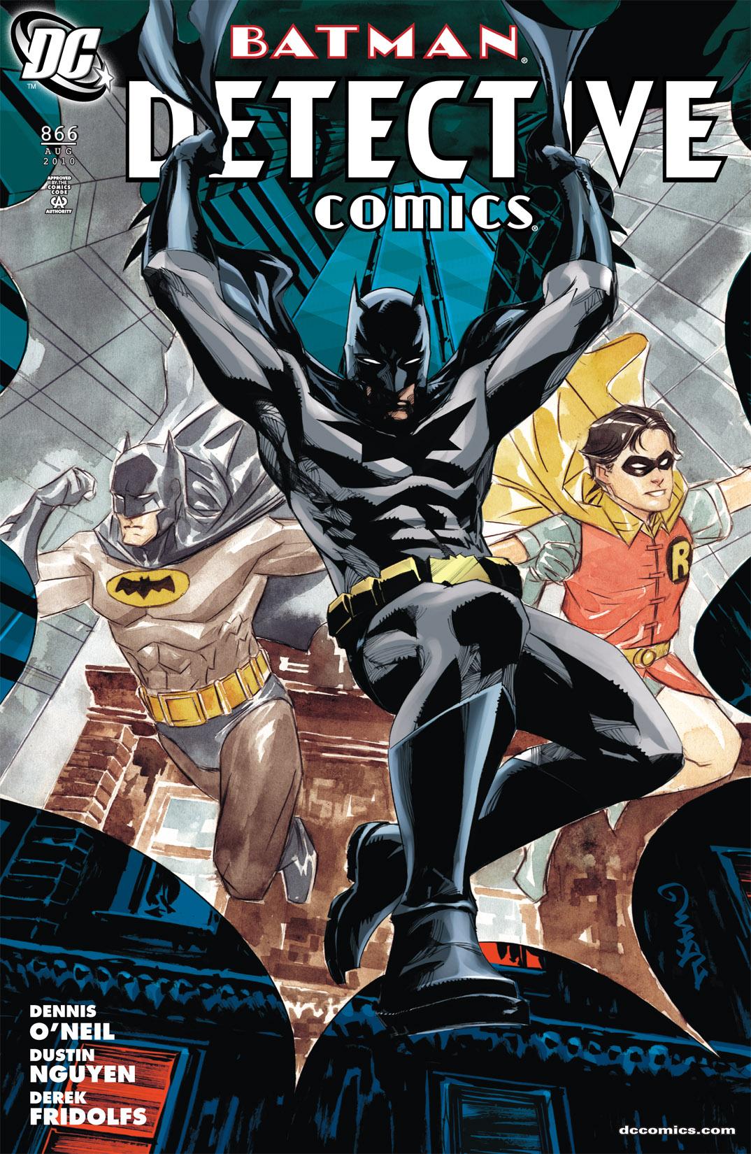 Detective Comics (1937) 866 Page 0