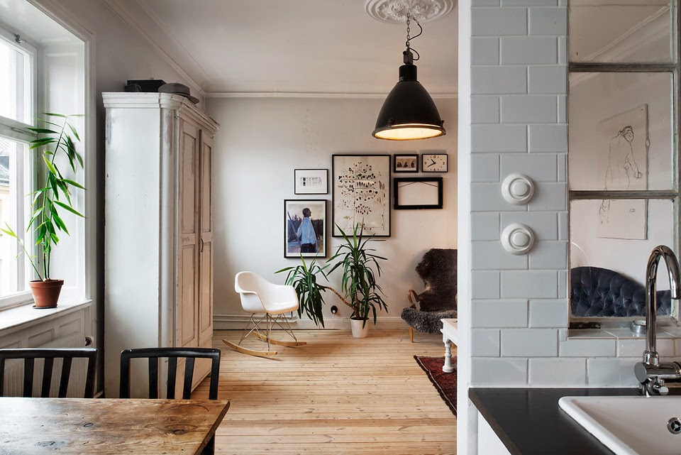 Mini apartamento en estocolmo un hometour fant stico - Apartamentos en estocolmo ...