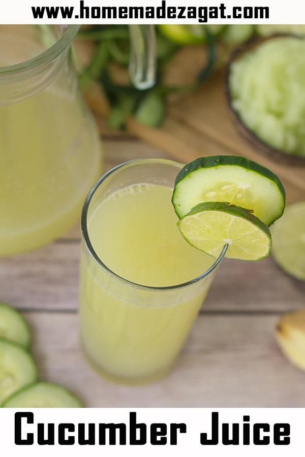 Refreshing Cucumber Juice