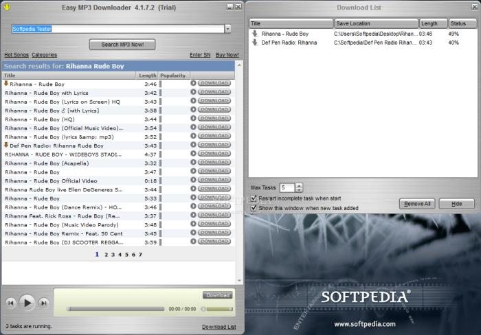 Get Everything Done: Easy Mp3 Downloader