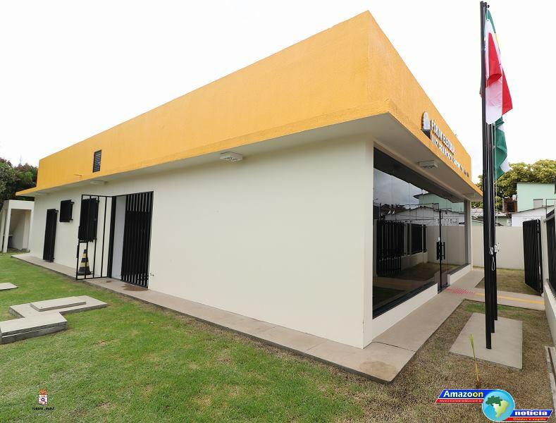 Município de juruti recebe novo prédio do fórum eleitoral