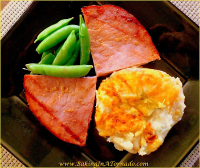 Marinated Grilled Ham Steaks are breakfast ham steaks marinated and grilled for a quick and easy dinner | Recipe developed by www.BakingInATornado.com | #recipe #dinner #ham