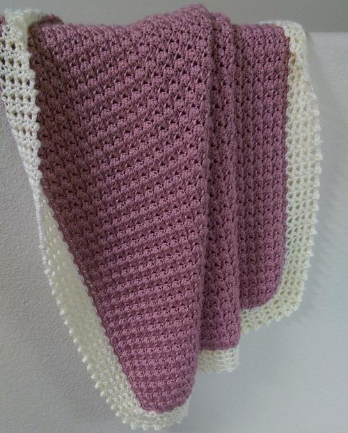 Textured Baby Blanket - Free Pattern