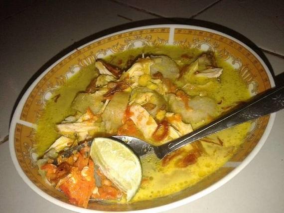 Resep Soto Ayam santan