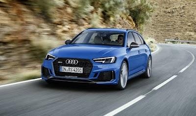 Νέο Audi RS 4 Avant με 450 άλογα και 0-100 σε 4,1 δλ.! (+video)