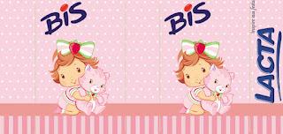 Etiquetas de Fiesta de Strawberry Shortcake Bebé para imprimir gratis.