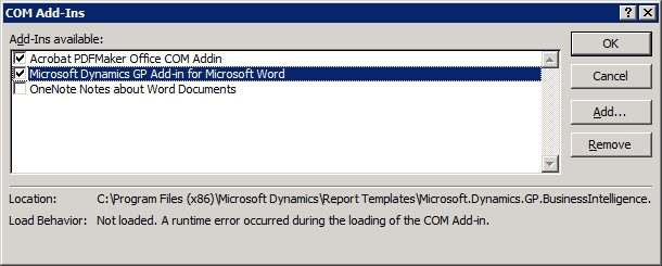 ms visual studio tools for office runtime 4.0