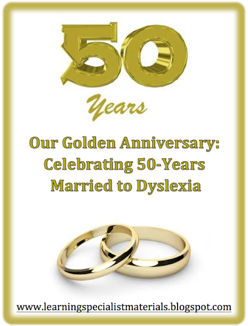 50 years with dyslexia
