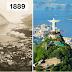 13 fotografías de antes y después mostrando la evolución de ciudades a lo largo de los años
