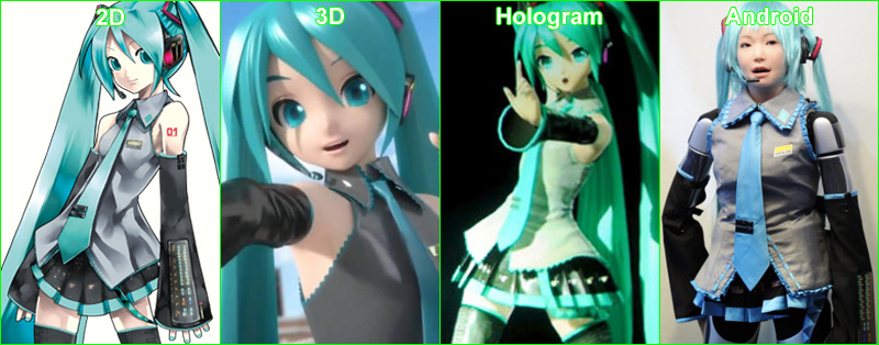 Anti Western Cosplayers Movement: From 2D to android Miku ...