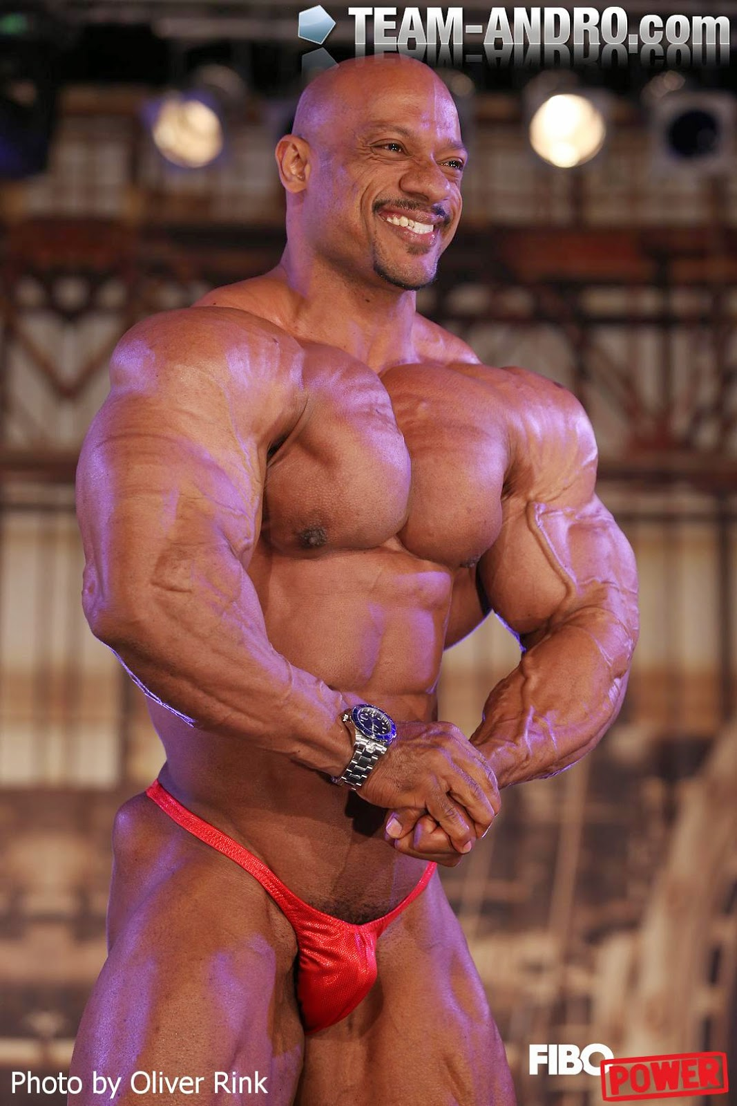 Sami Al Haddad - the lion from Bahrain at Fibo 2014