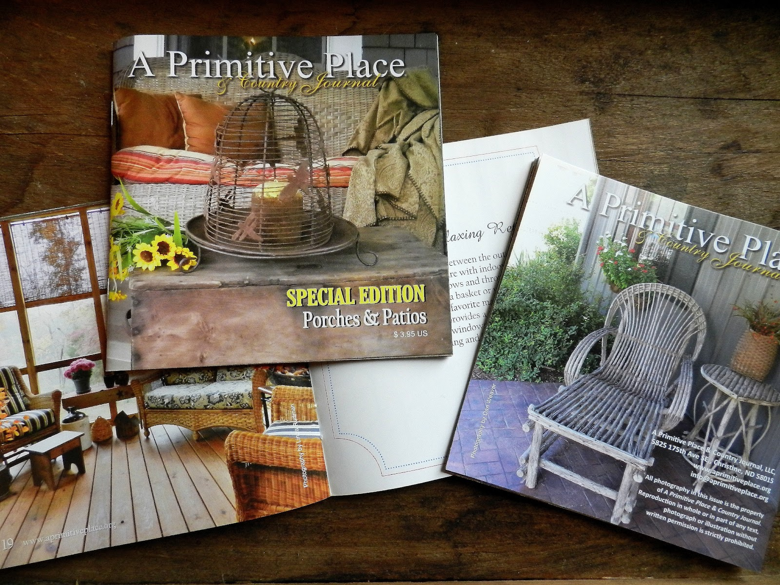 A Primitive Place & Country Journal Magazine: BONUS For