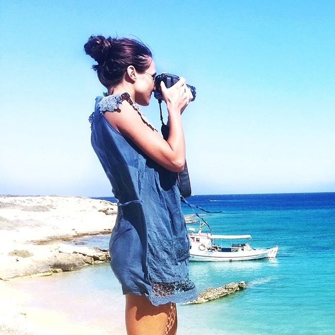 Jelena Zivanovic Instagram @lelazivanovic.Glam fab week.Best Koufonisia photos.