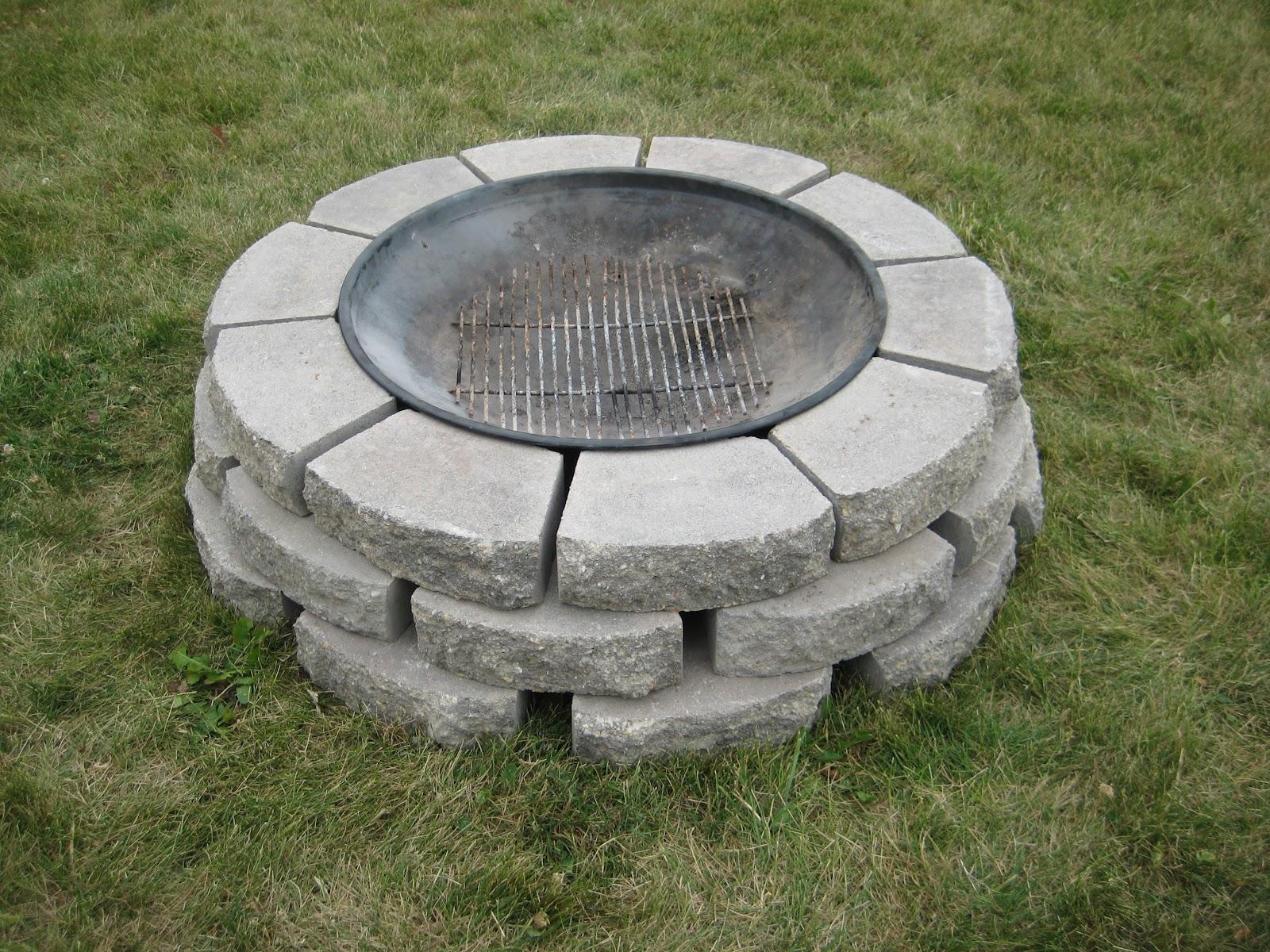 DIY Homemade Fire Pit thanks to #Pinterest - momma in flip ...