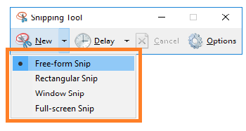 Snipping Tool Excel to JPG