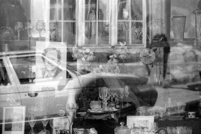 Prague, rue Nerudova, Vaklav Havel, © L. Gigout, 1990