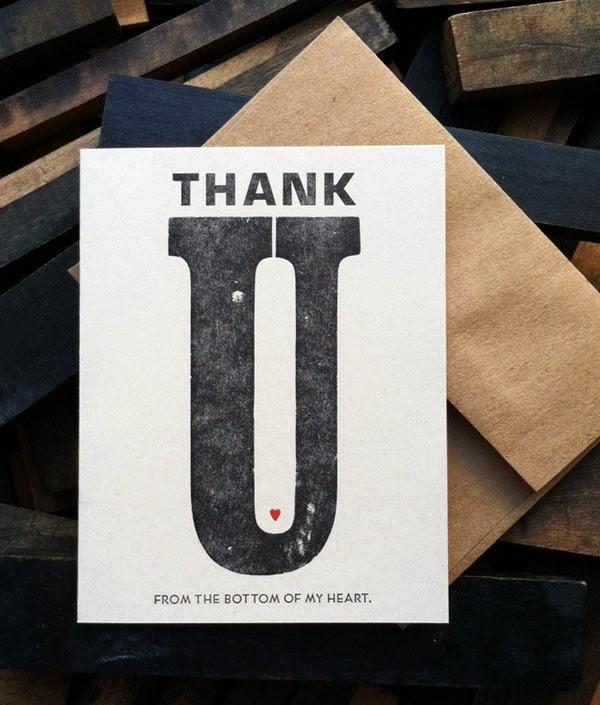 Unique Thank You Card Ideas
