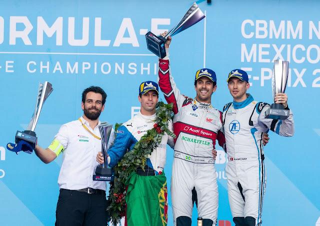Audi vence E-Prix do México com brasileiro Lucas di Grassi